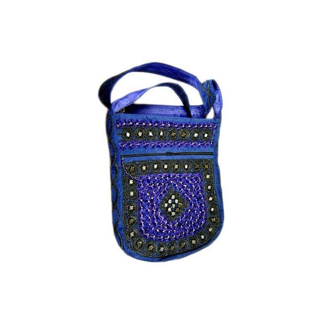 Umhängetasche Handtasche Blau
