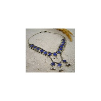 Tribal Lapislazuli Collier