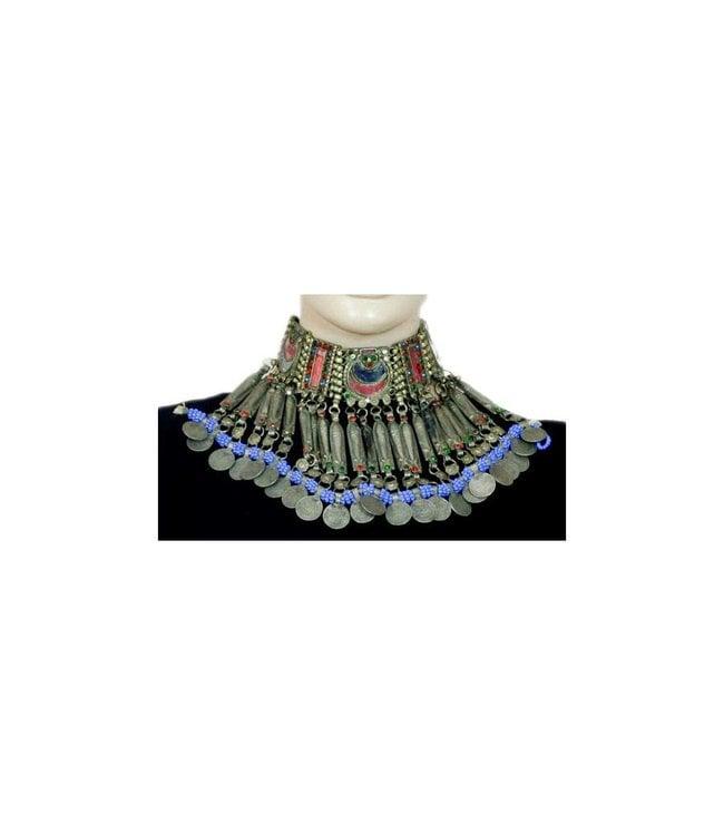 Tribal Fish Choker Necklace