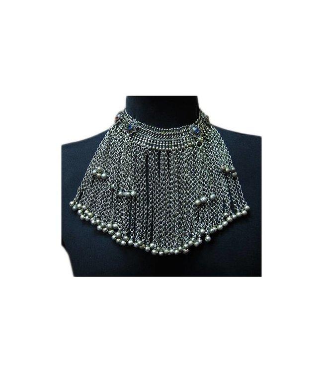Tribal choker necklace