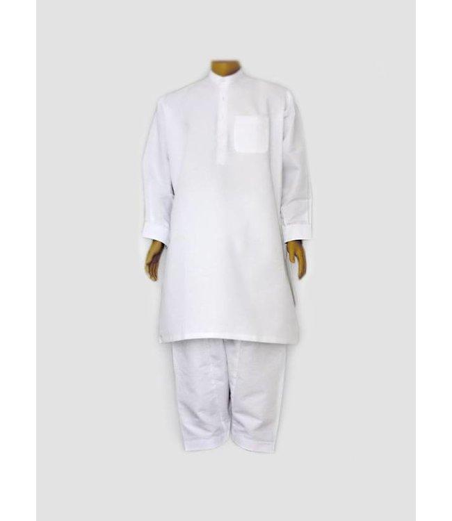 Salwar Kameez Men - White