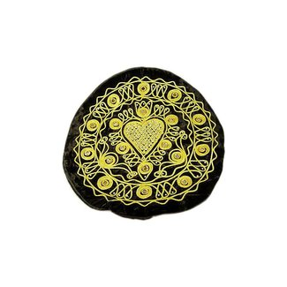 Oriental Cushion Cover Black