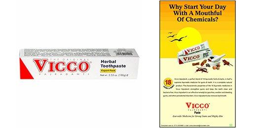 Vicco Vegane Ayurvedische Zahnpasta