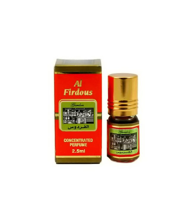 Al Fakhr Perfumes Concentrated Perfume Oil Al Firdous 3ml Free from alcohol