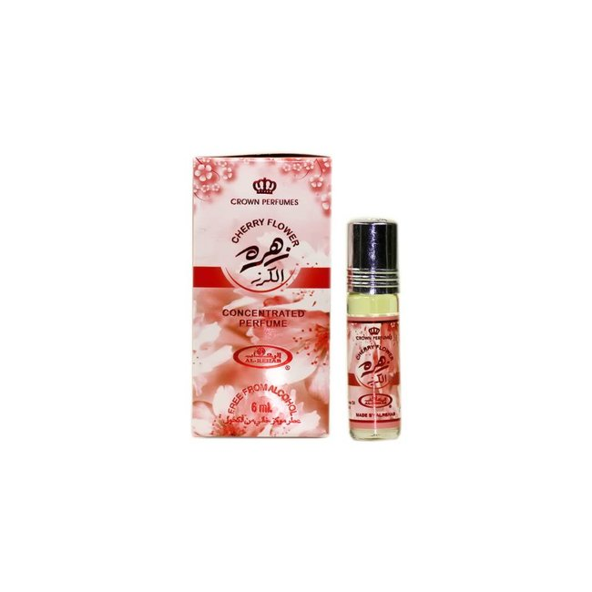 Al Rehab  Perfume Oil Cherry Flower by Al Rehab