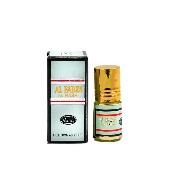 Al Fakhr Perfumes Konzentriertes Parfümöl ohne Alkohol - Al Fares 3ml