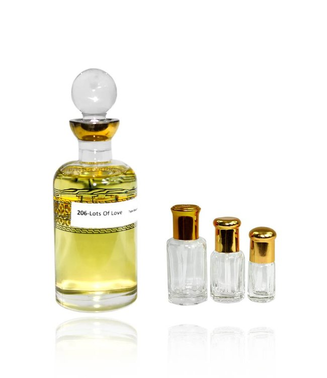 Concentrated perfume oil Lots of Love - Perfume without alcohol