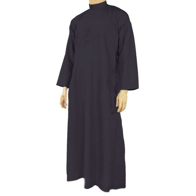 Al Haramain Arabic Galabiya Thobe - Dark Blue
