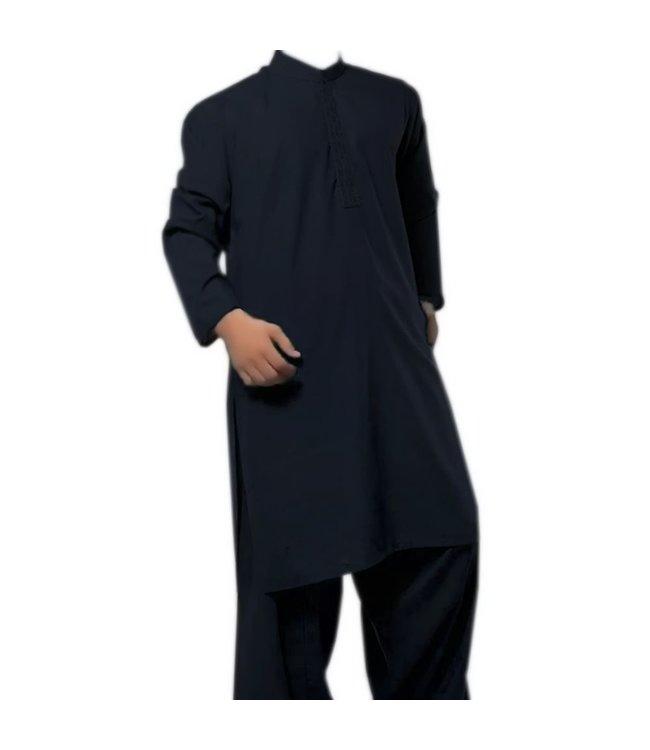 Salwar Kameez Men - Dark Blue