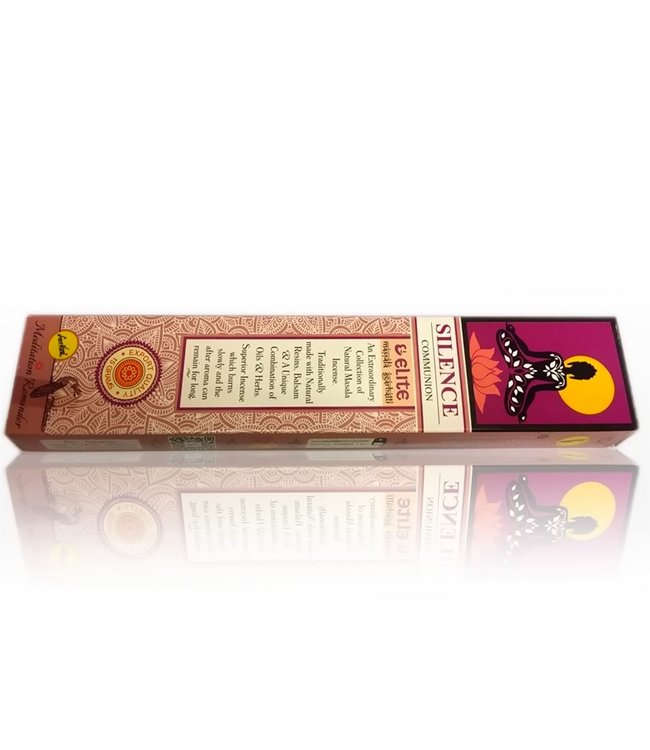 Sree Vani Indian incense sticks Elite Silence With Flowers (15g)