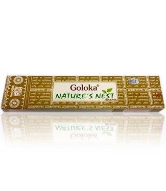 Goloka Räucherstäbchen Goloka Masala Nature's Nest (15g)