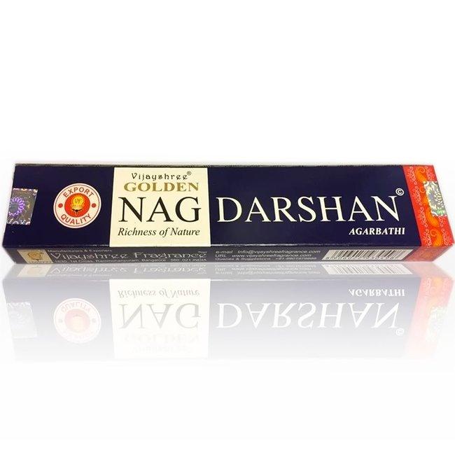 Incense sticks Vijayshree Golden Nag Darshan (15g)