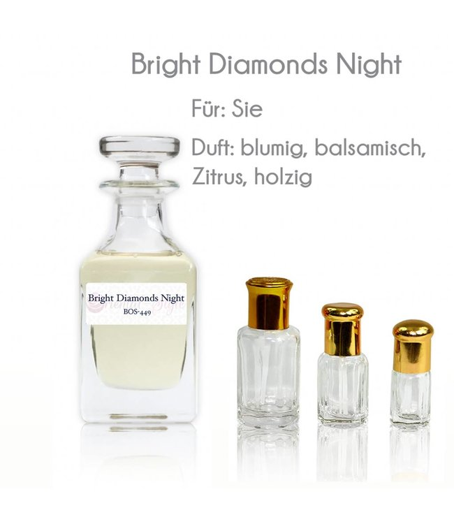 Parfümöl Bright Diamonds Night - Parfüm ohne Alkohol
