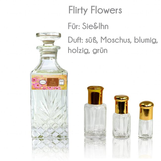 Perfume oil Flirty Flowers