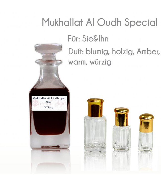Afnan Parfümöl Mukhallat Al Oudh Special von Afnan - Parfüm ohne Alkohol
