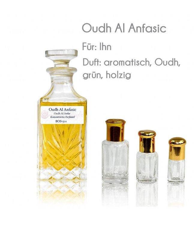 Anfar Perfume oil Oudh Al Anfasic - Perfume free from alcohol