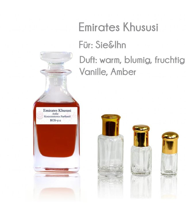 Anfar Perfume oil Emirates Khususi - Perfume free from alcohol