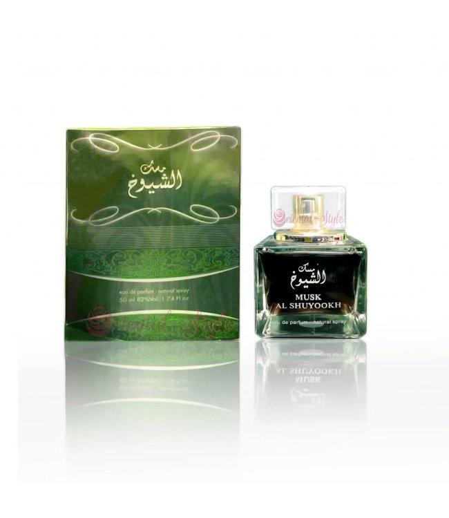 Ard Al Zaafaran Perfumes  Musk Al Shuyookh Eau de Parfum 50ml Ard Al Zaafaran