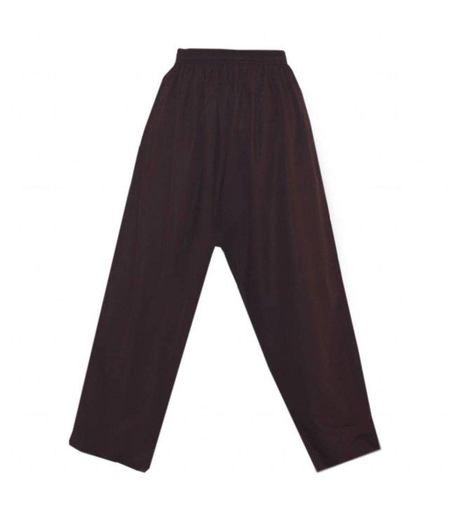 Arabic men pant trouser in Red Brown