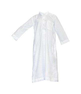 Children Kaftan, Jubbah, Galabiyah in White