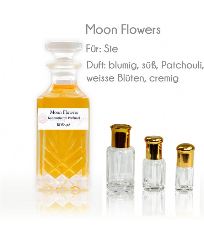 Perfume oil Moon Flowers - Perfume free from alcohol