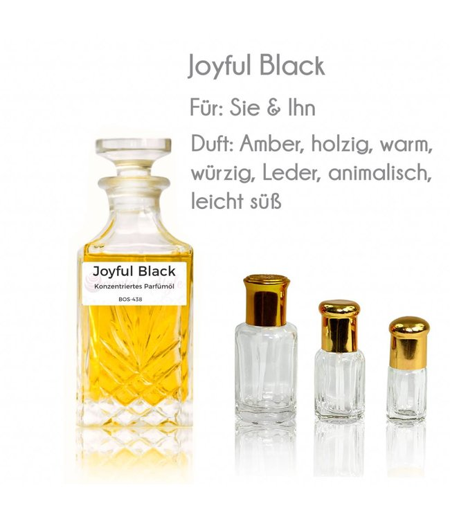 Parfümöl Joyful Black