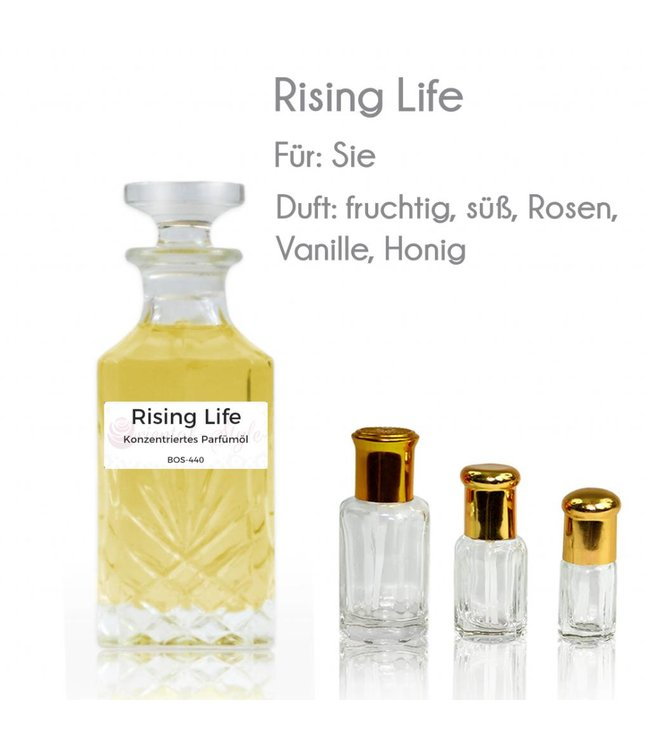 Perfume oil Rising Life - Perfume free from alcohol