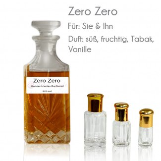 Oriental-Style Perfume oil Zero Zero
