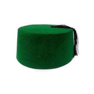 Fez Hut Kappe - Grün