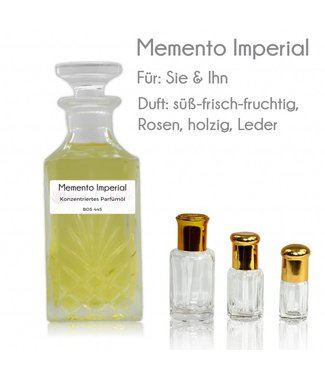 Sultan Essancy Parfümöl Memento Imperial