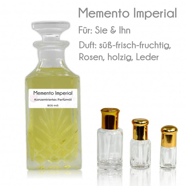 Perfume oil Imperial Memento