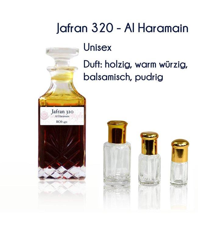 Al Haramain Parfümöl Jafran 320 von Al Haramain - Parfüm ohne Alkohol