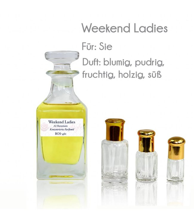 Al Haramain Parfümöl Weekend Ladies