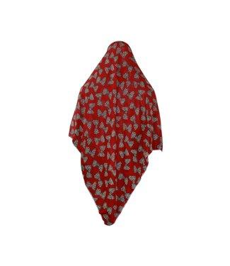 Großes Hijab Kopftuch Rot