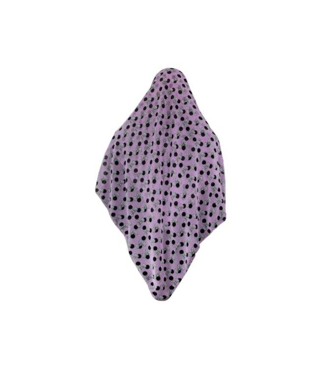 Big hijab scarf light purple colour