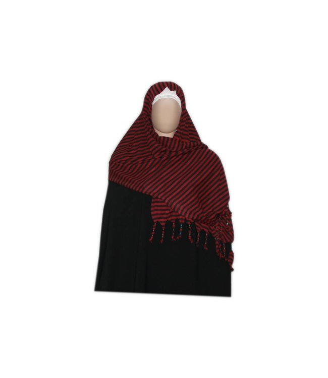Little Shayla Scarf Hijab Dark Red