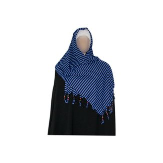 Little Shayla Scarf Hijab Dark Blue