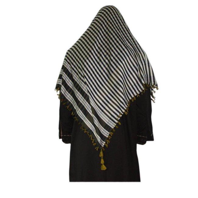 Großes Tuch - Shimagh Gelb 120x115cm