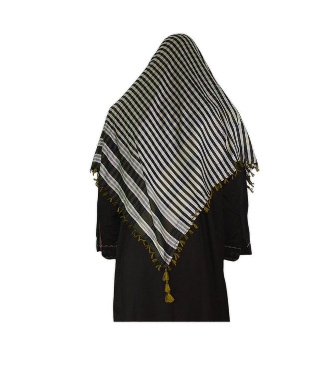 Large Scarf - Shimagh Yellow 120x115cm