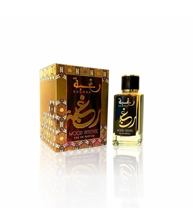 Lattafa Perfumes Raghba Wood Intense Eau de Parfum 100ml Perfume Spray