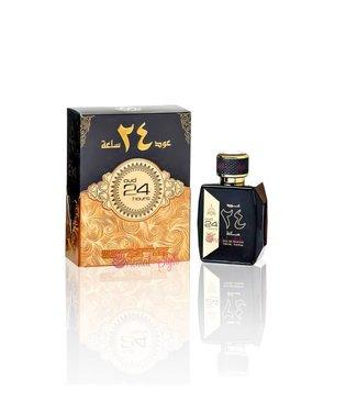 Ard Al Zaafaran Perfumes  Oudh 24 Hours  Eau de Parfum 100ml Perfume Spray + 75ml Deo