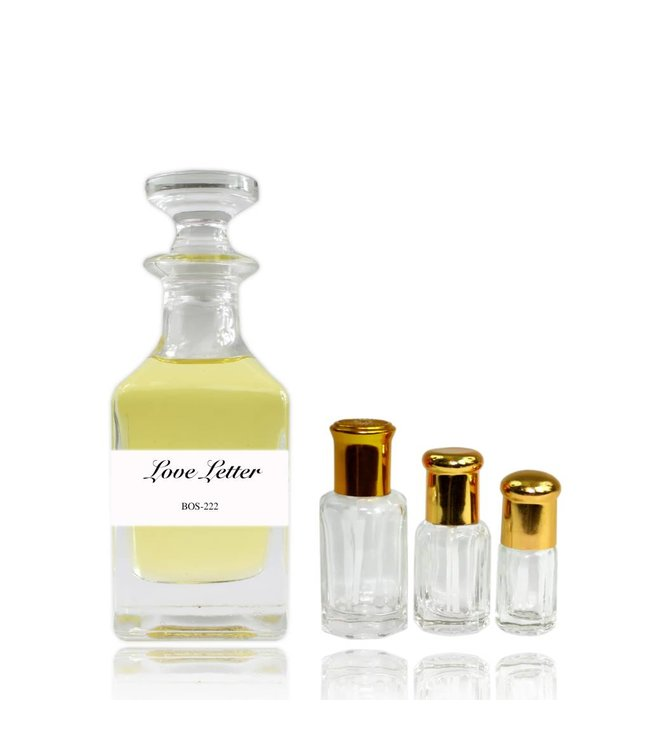 Sultan Essancy Perfume oil Love Letter - Perfume free from alcohol