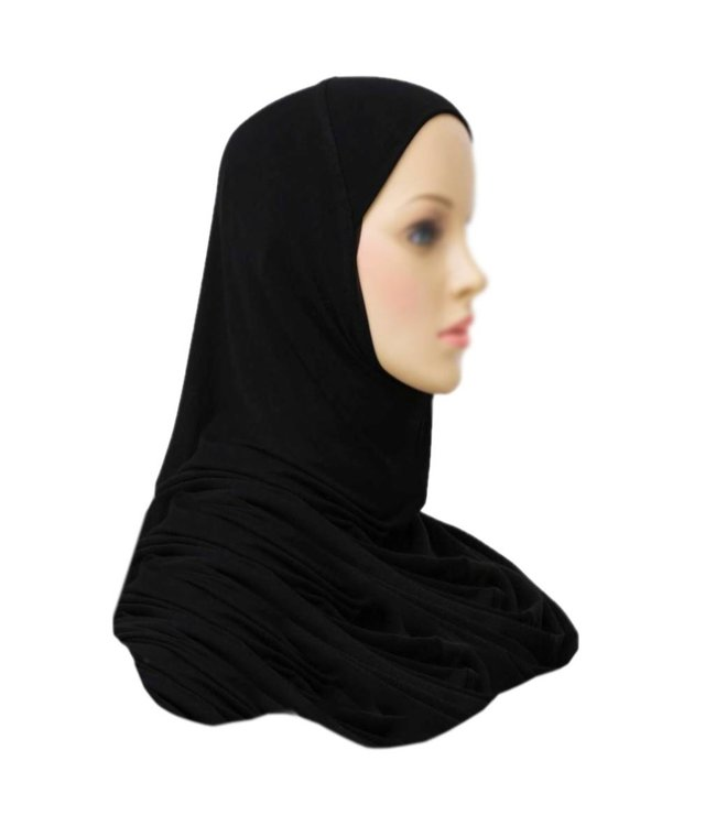 Amira Hijab Headscarf  Black
