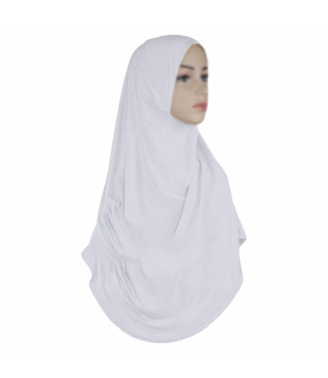 Amira Hijab Headscarf  White