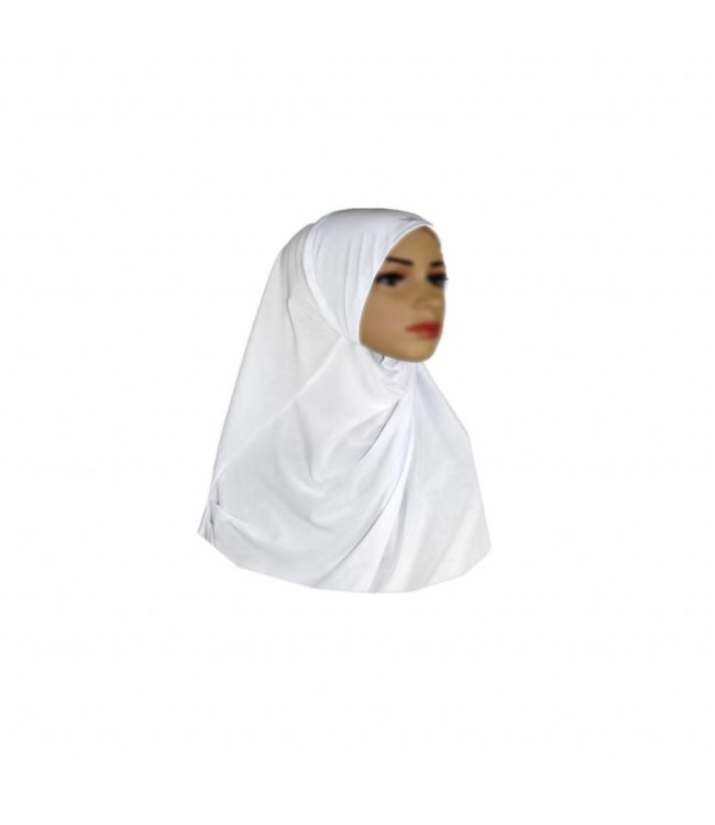 Amira Hijab Scarf White - Small