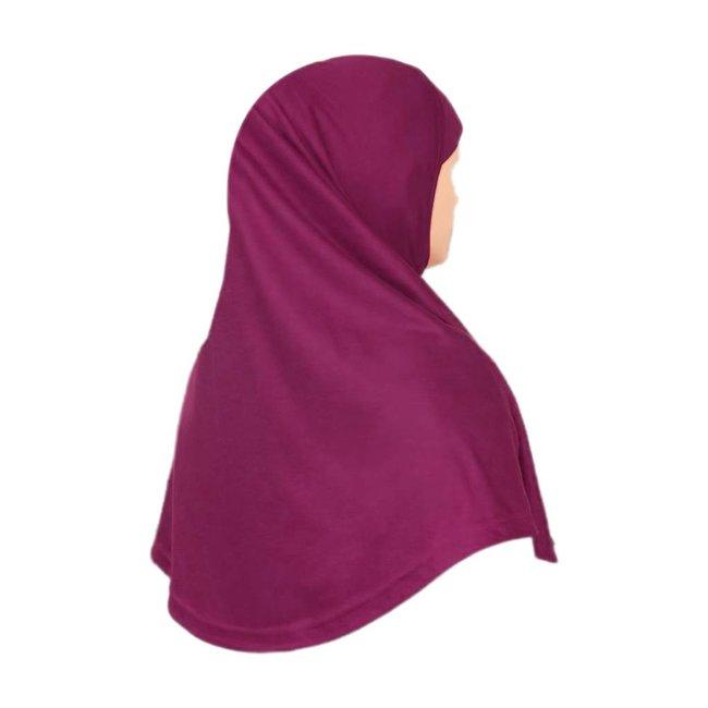 Amira Hijab in Violett