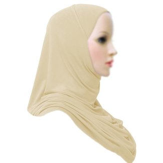 Amira Hijab Scarf Light Beige