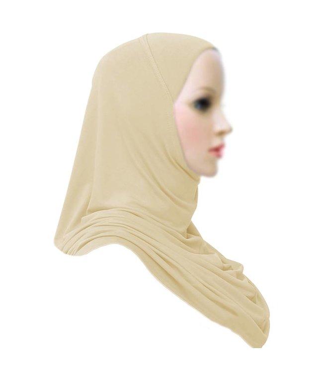 Amira Hijab Headscarf Light Beige