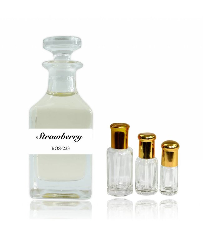 Concentrated perfume oil Strawberry - Perfume free from alcohol