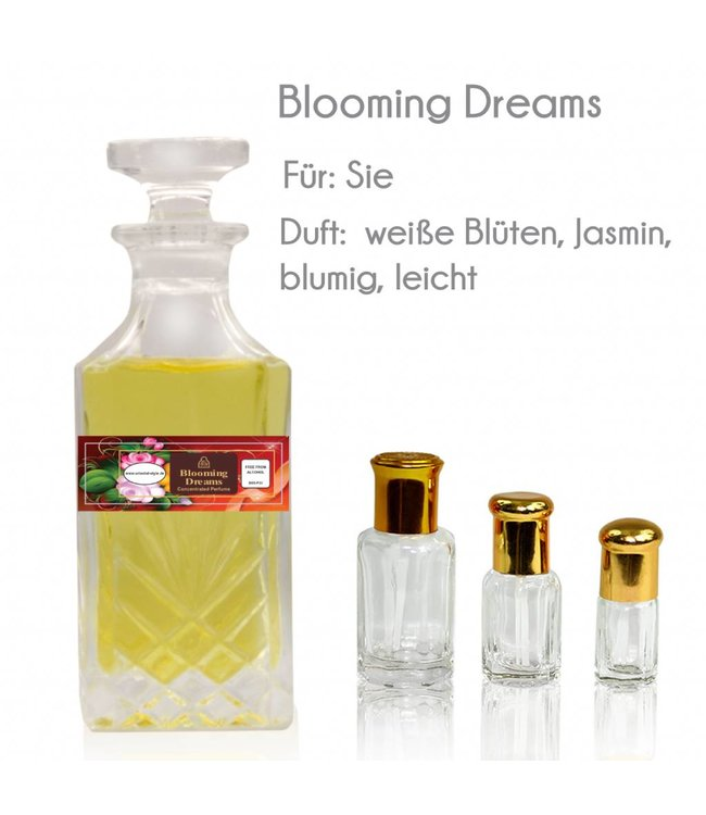 Perfume oil Blooming Dreams - Perfume free from alcohol